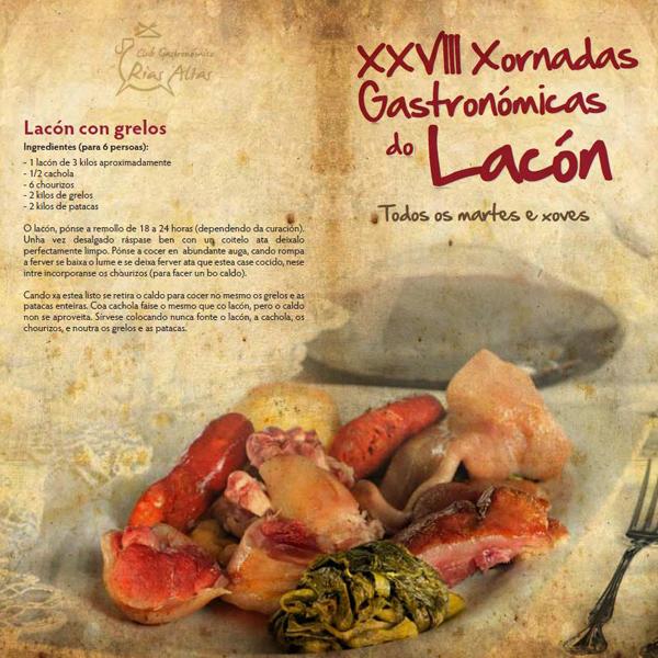 Xornadas Gastronómicas do Lacón