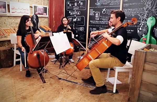Mercado de la Cosecha Cierre Soncello Quartet
