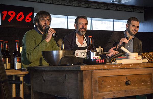 Xoel López y Pepe Solla
