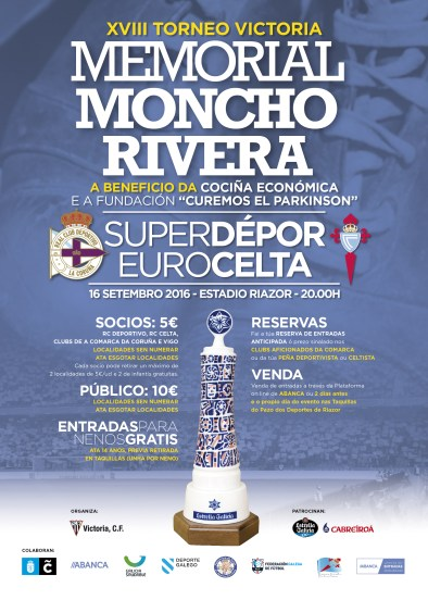 Cartel Memorial Moncho Rivera