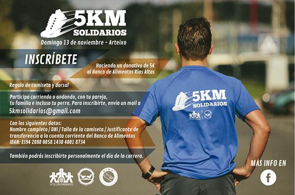 Carrera 5KM Solidarios 2016