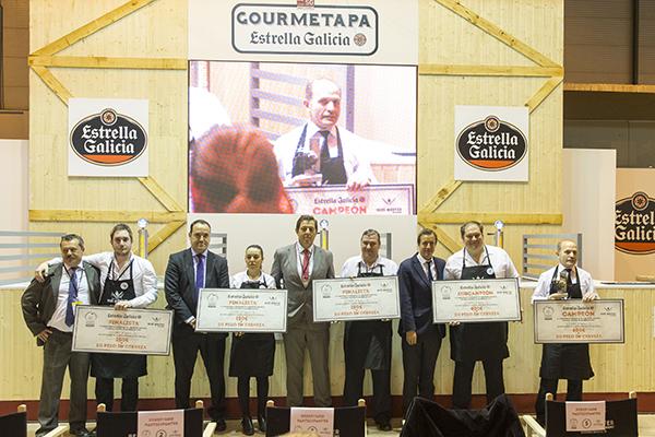 Finalistas Mejor Tirador de Cerveza de Madrid