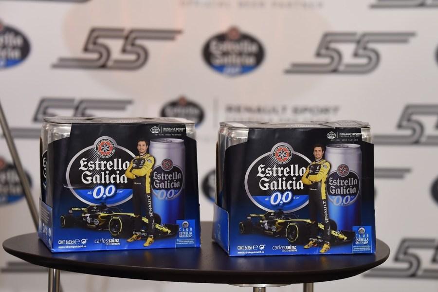 Estrella Galicia 0,0 edición especial Carlos Sainz