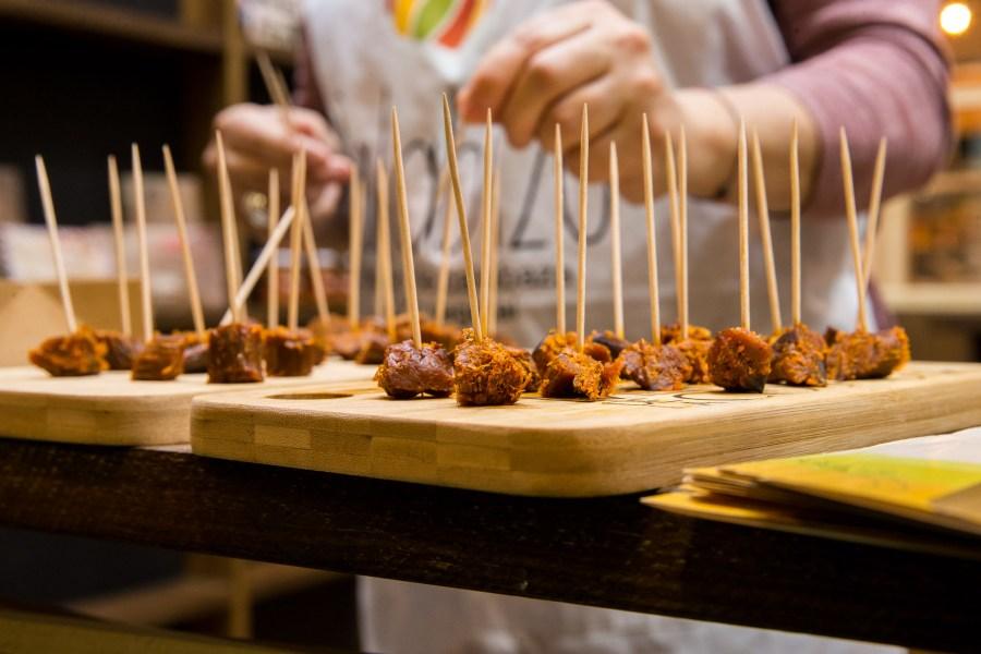 Calabizo en el Stand del Mercado de la Cosecha en el Salón de Gourmets 2018