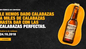 Vuelve Fábrica de Cervezas Estrella Galicia Calabaza y Vainilla