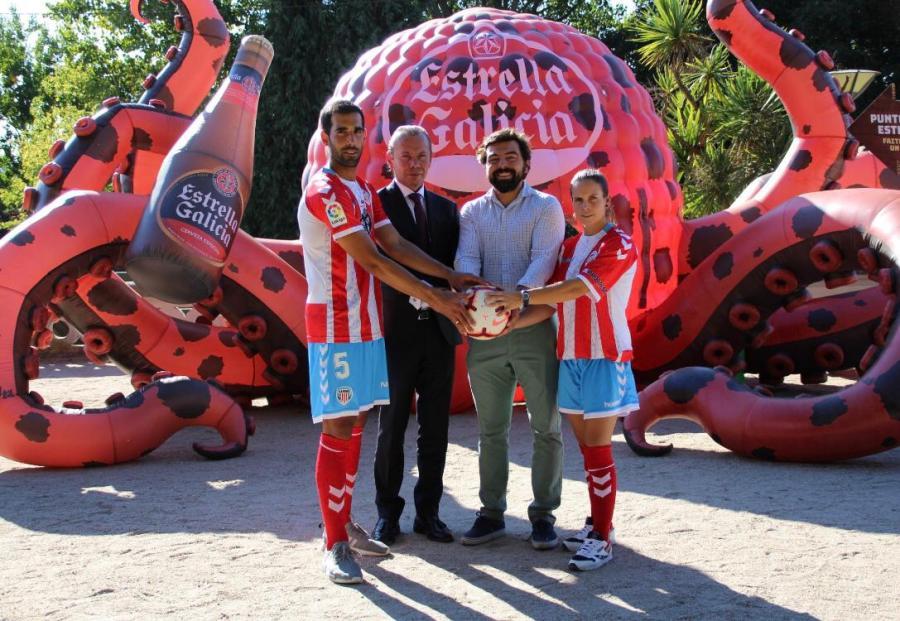 Renovación acuerdo de patrocinio Estrella Galicia y CD Lugo