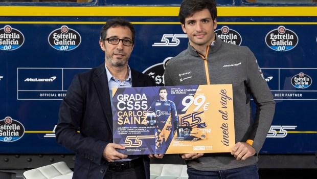 Carlos Sainz Grada CS55