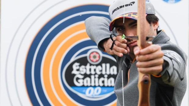 Carlos Sainz evento Estrella Galicia 0,0