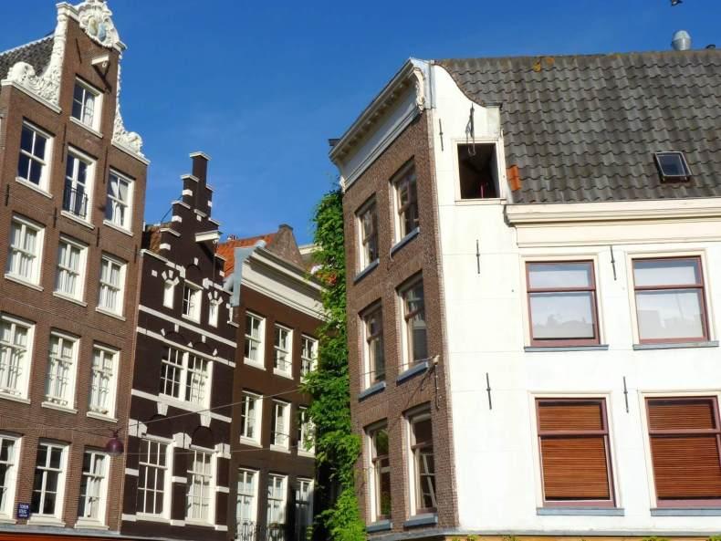 Amesterdão Países Baixos Prédios 02 Mundo Indefinido