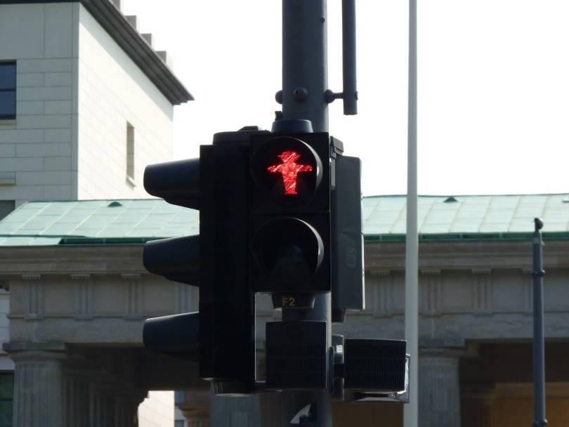 Ampelmann Berlim Alemanha Mundo Indefinido