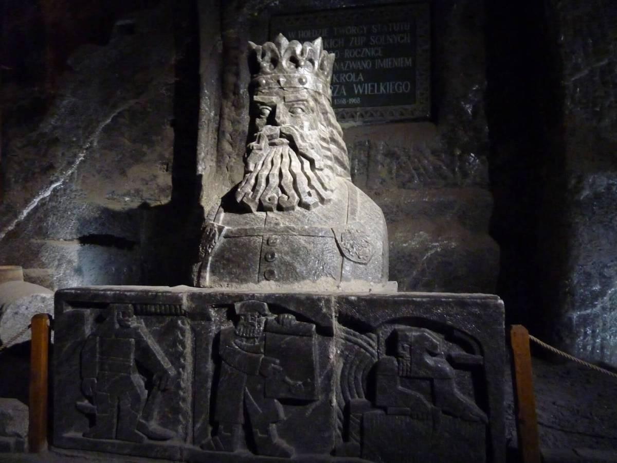As minas de sal de Wieliczka, um museu debaixo de terra