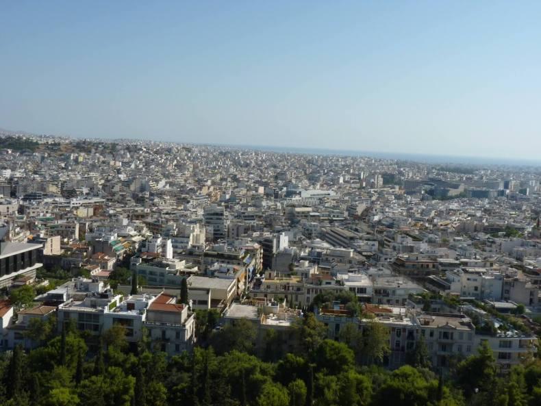 Atenas Vista 02 Grécia Mundo Indefinido