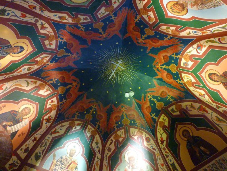 Catedral de São Basílio interior 02 Moscovo Rússia Mundo Indefinido