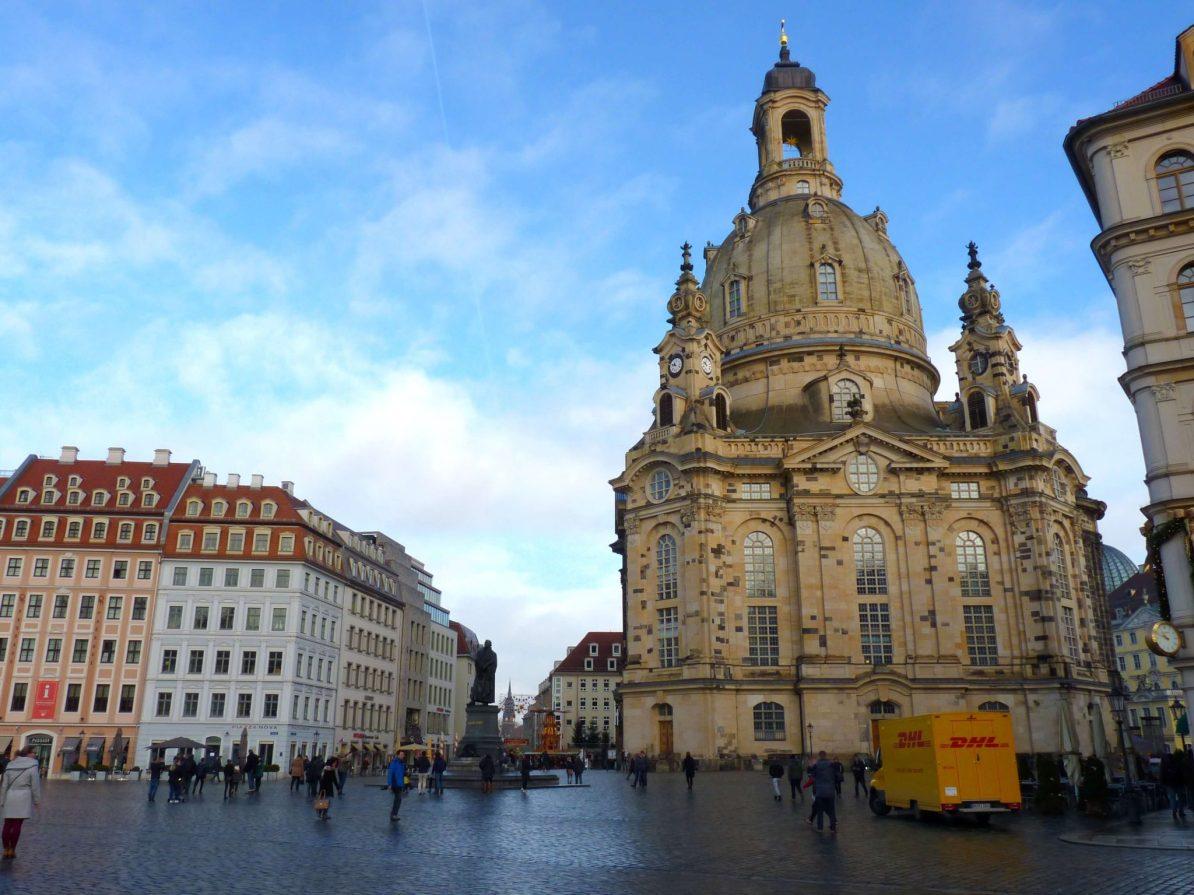 Frauenkirche Dresden Alemanha Mundo Indefinido
