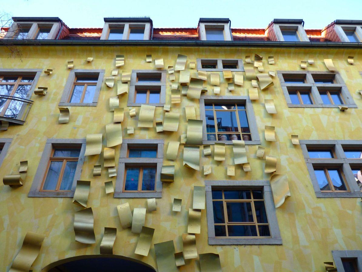 Kunsthofpassage 03 Dresden Alemanha Mundo Indefinido