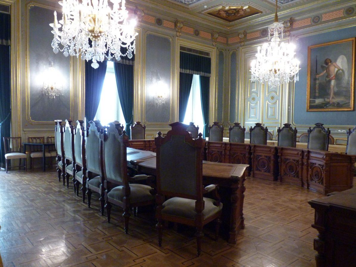 Câmara Municipal de Lisboa sala das sessões privadas 02 Lisboa Portugal Mundo Indefinido