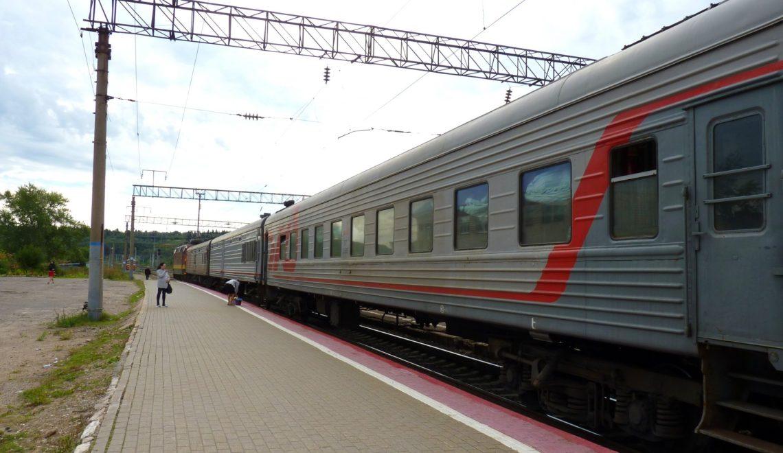 Comboio Moscovo Irkutsk Rússia Mundo Indefinido