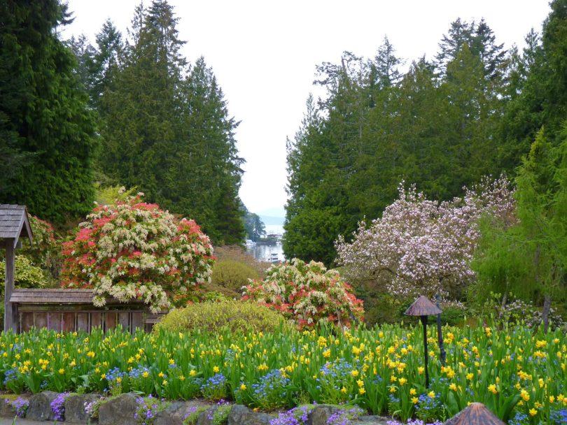 Butchart Gardens 16 Victoria Canadá Mundo Indefinido