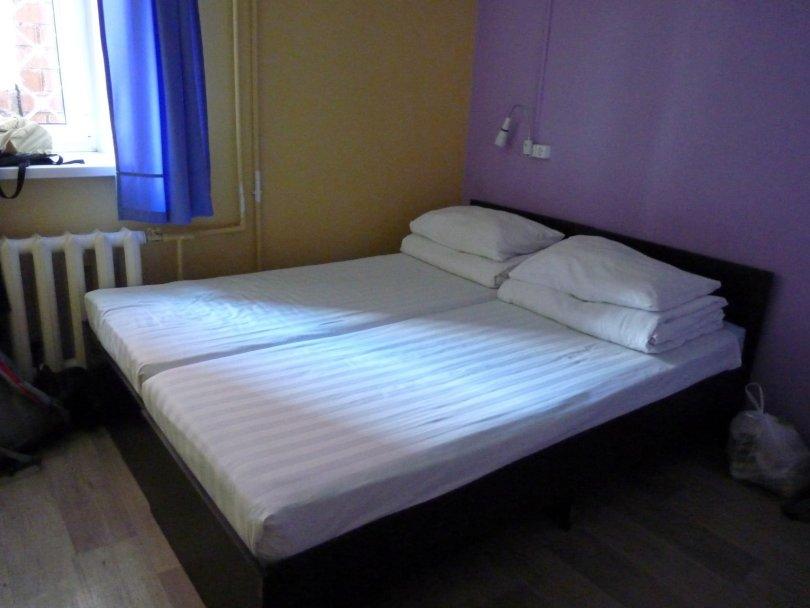 Clean Hostel quarto duplo Ulan-Ude Rússia Mundo Indefinido