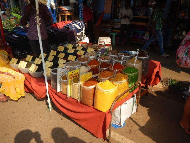 Especiarias Mercado Mapuçá Goa Índia 02 Mundo Indefinido