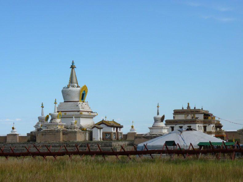 Mosteiro de Erdere Zuu 02 Mongólia Mundo Indefinido