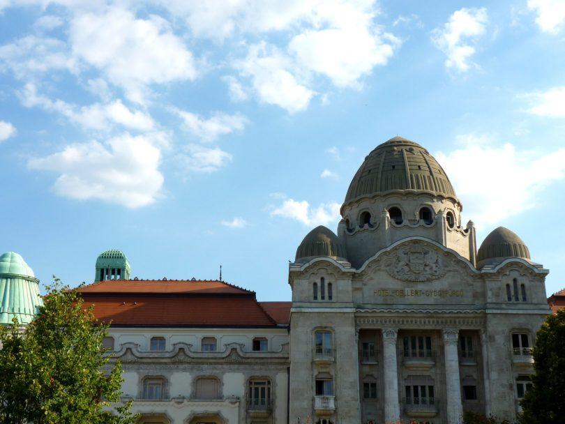 Termas Gellért Budapeste Hungria Mundo Indefinido
