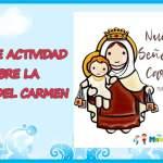 FICHA DE ACTIVIDAD  DE RELIGIÓN PARA NIÑOS
