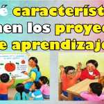 Características de los proyectos de aprendizaje en educación inicial