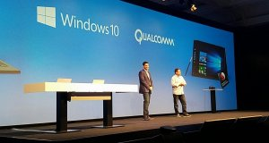 Terry Myerson y Cristiano Amon
