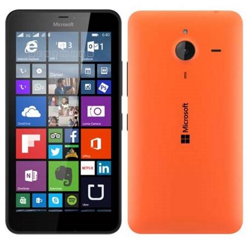 Lumia 640 XL naranja