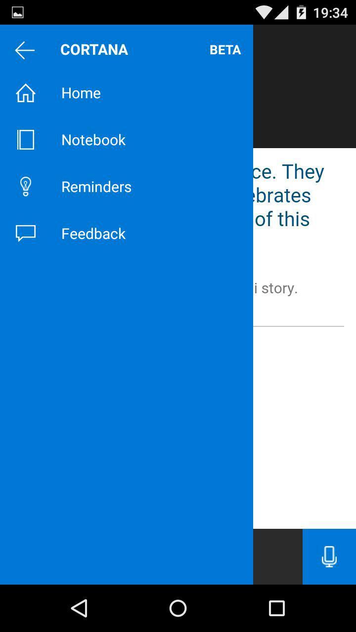 Configuración y preferencias de Cortana