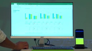 Excel Mobile en Continuum con Windows 10 Mobile