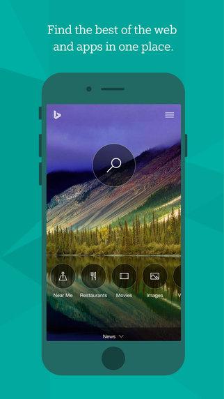 Cambio total en Bing para el iPhone