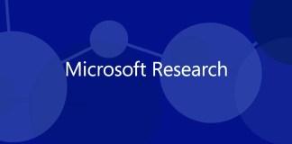 Logo de Research sobre fondo azul