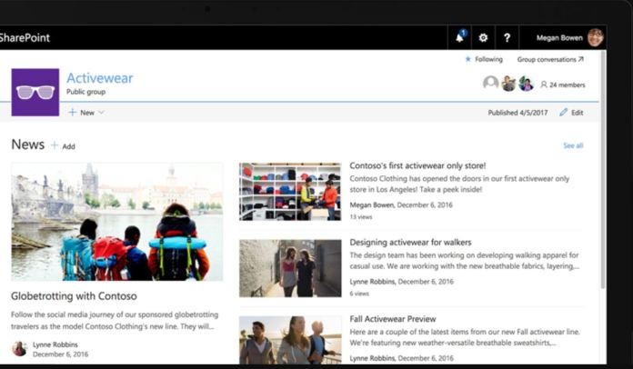 Microsoft SharePoint se actualiza