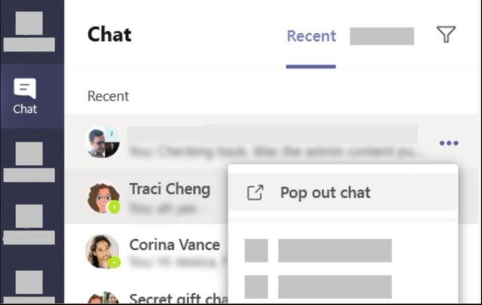 Llega el multi chat a Microsoft Teams