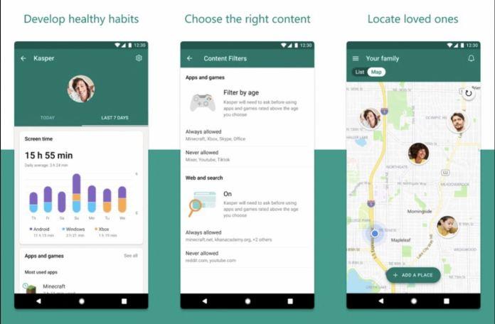 La nueva aplicación Family Safety de Microsoft se lanza en iOS y Android