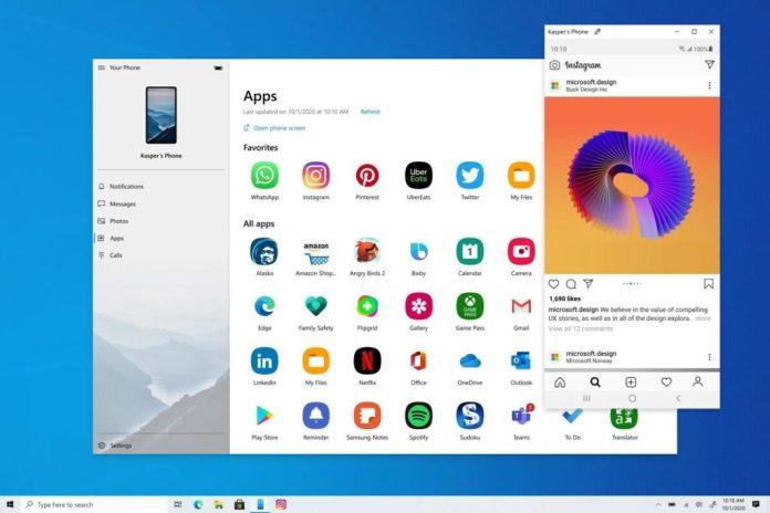 El streaming de aplicaciones de Android en Windoes 10 comienza a implementarse generalmente