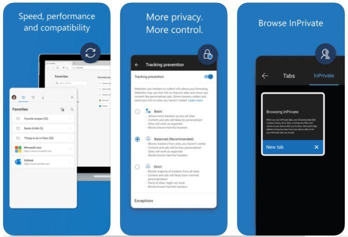 Pronto podremos configurar Edge como navegador predeterminado en iOS