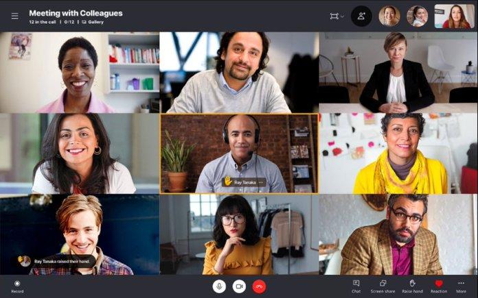 La nueva actualización de Skype Insider trae la función Raise Hand de Teams