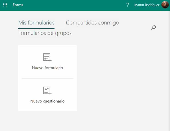 Microsoft Forms ahora es gratuita para todos los usuarios