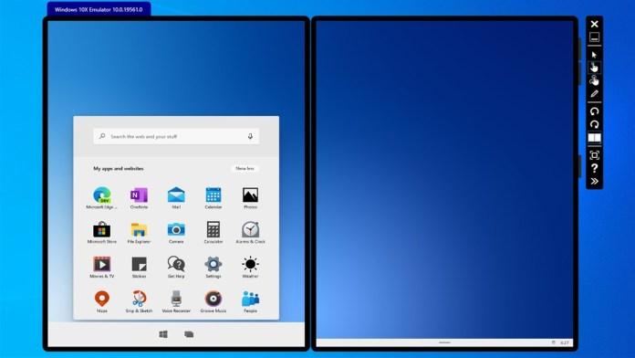 Windows 10X tiene una función especial para ejecutar ciertas aplicaciones
