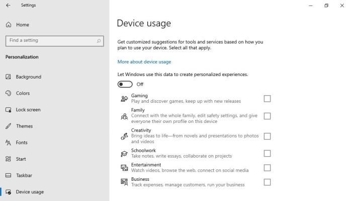 Los de Redmond quieren optimizar tu dispositivo Windows 10 para casos de uso específicos