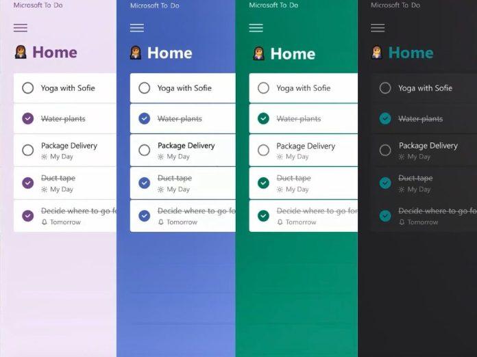 Microsoft To Do ahora admite el uso compartido de listas de cuentas personales a cuentas de trabajo