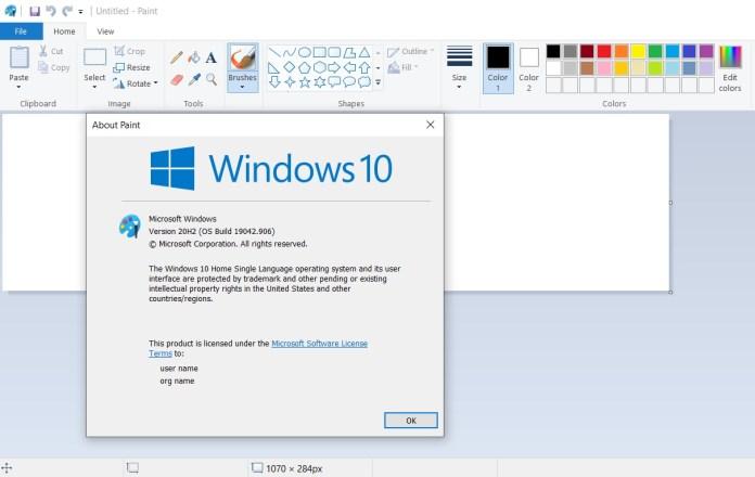 La aplicación Microsoft Paint de Windows 10 finalmente se dirige hacia Microsoft Store