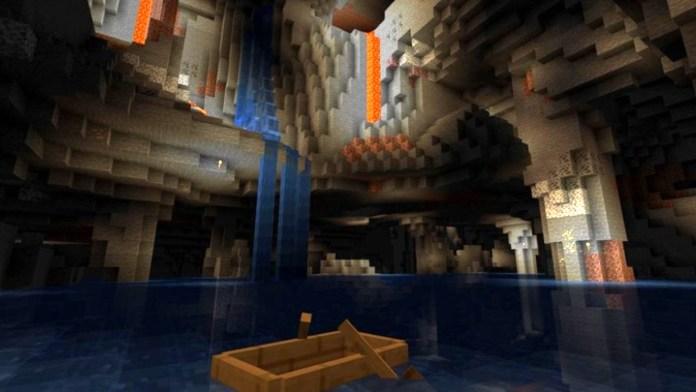 La actualización Caves and Cliffs de Minecraft se dividirá en dos lanzamientos