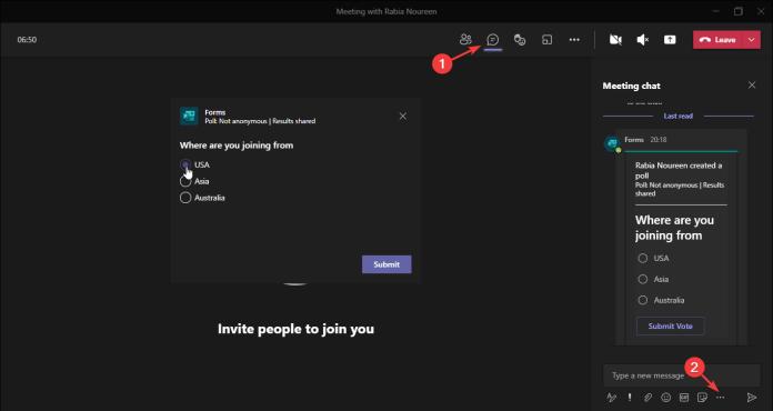 Los usuarios de Microsoft Teams ya pueden usar aplicaciones en reuniones y chats externos