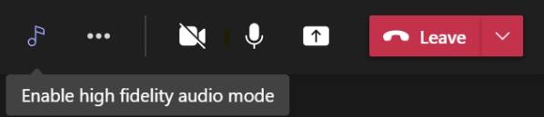 La actualización de audio de Microsoft Teams llegará a finales de este año