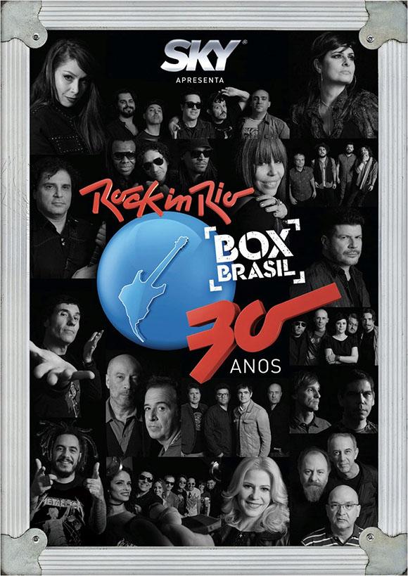 BOX Rock in Rio 30 Anos