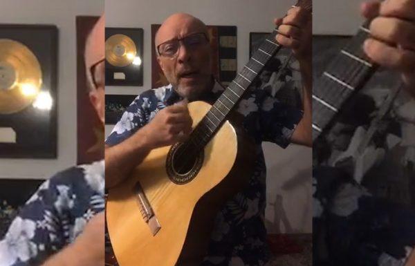 Edgard Scandurra faz live com músicas que canta no Ira!